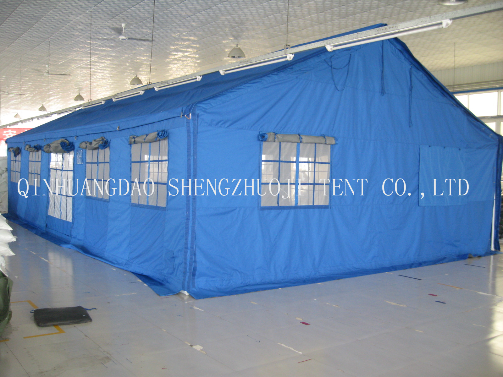 10X6m cotton relief tent